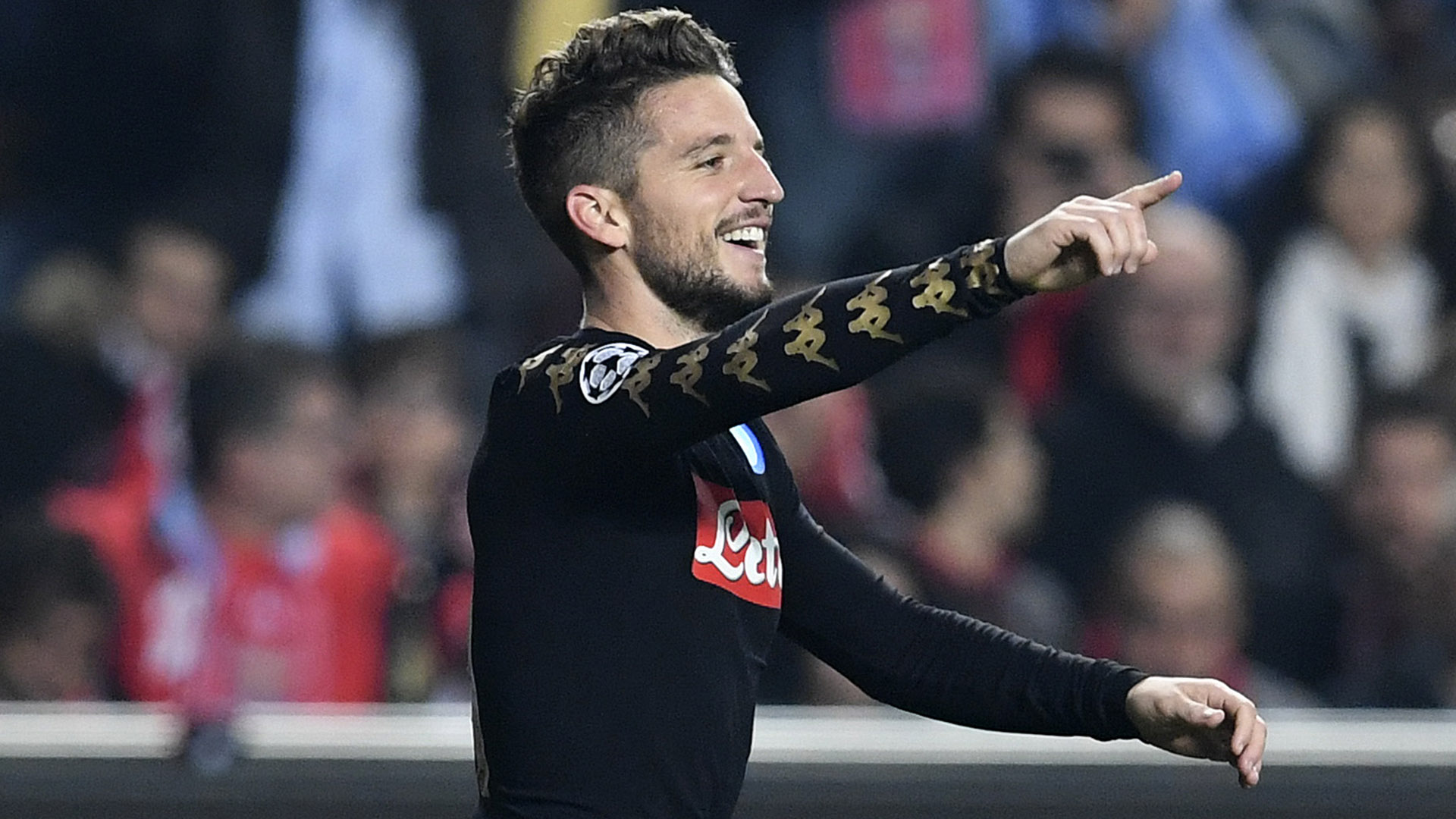 Dries Mertens Benfica Napoli Champions League