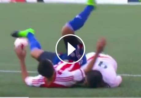 ► La terrible lesión de Alan Pulido