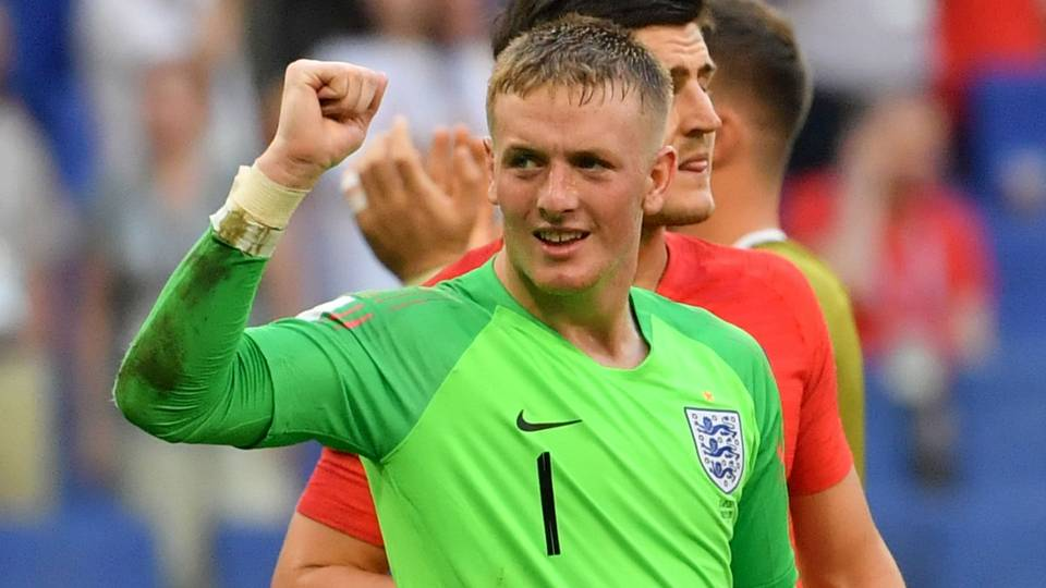 Jordan Pickford England Sweden