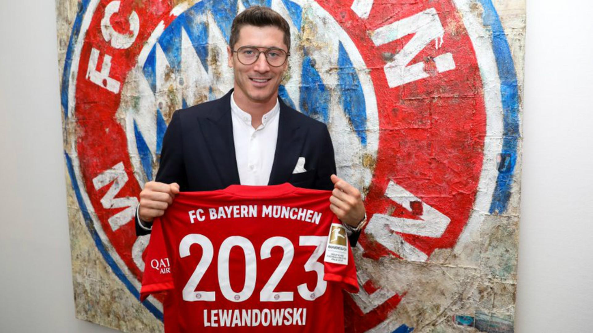 OFFICIEL - Bayern Munich : Lewandowski prolonge son contrat jusqu'en 2023 !