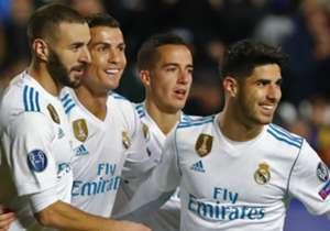 Die Stars von Real Madrid dürfen sich freuen: Im Rahmen der Partnerschaft mit Audi bekamen die Spieler alle ein neues Auto.