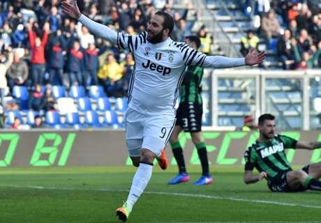 Sassuolo - Juve 0-2, résumé du match