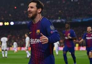 Dwigol kontra Chelsea menggenapkan koleksi gol Lionel Messi di Liga Champions menjadi 100. Siapa saja tim yang paling sering menjadi korban ketajaman sang superstar Barcelona di kompetisi ini?