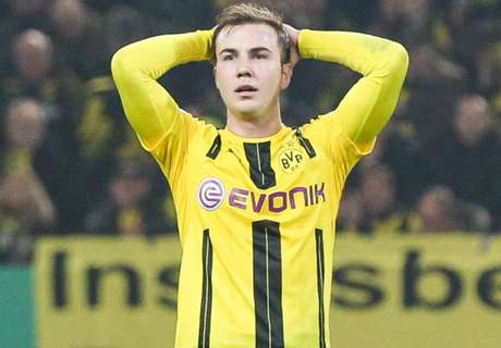 BVB confirm Gotze out for the season