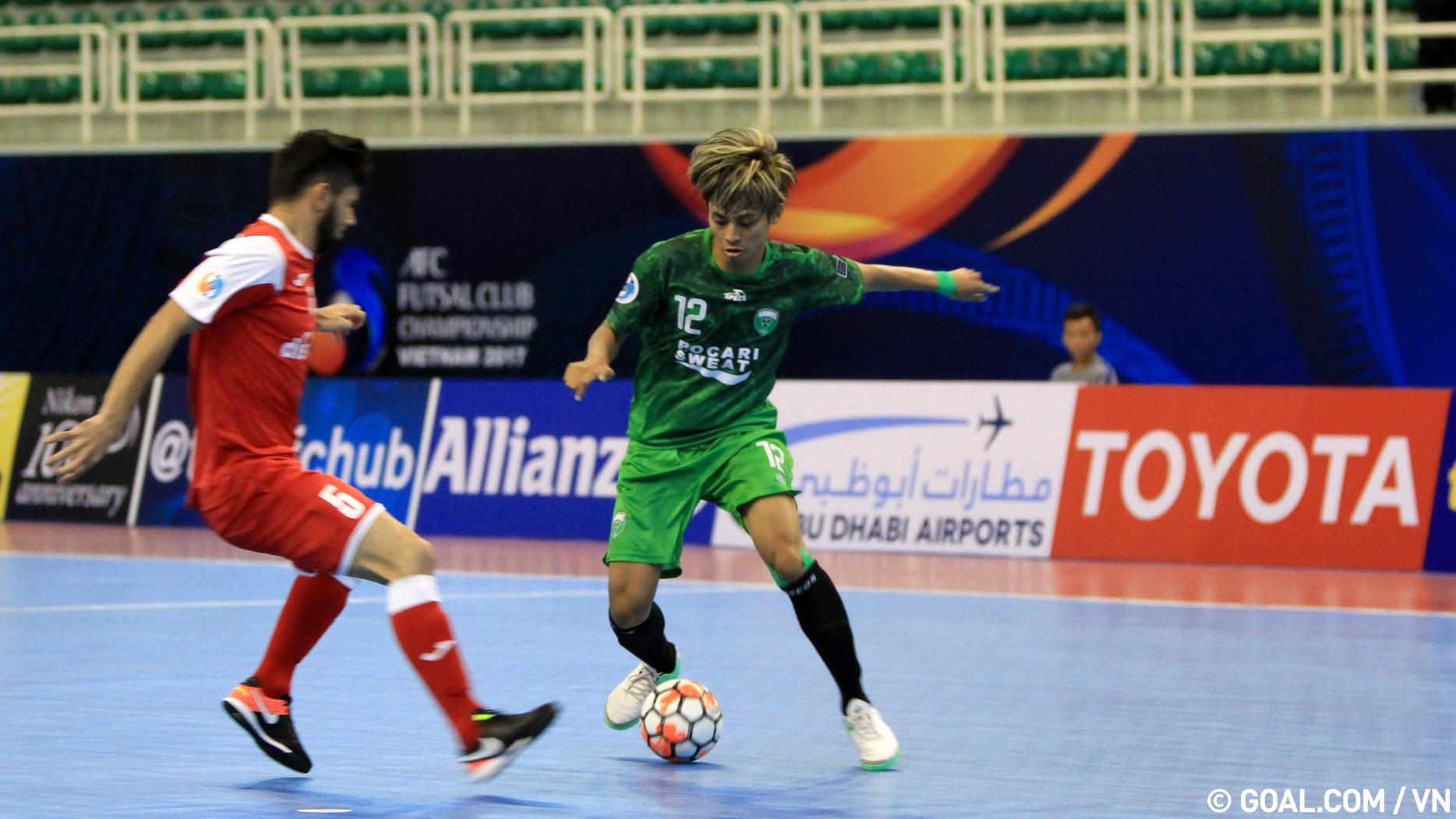 2017 AFC Futsal Club Championship   Nafit Al-Wasat (Iraq) 3-2 Al Rayyan (Qatar)