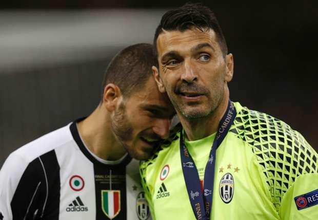 Bonucci denies Champions League final argument with Barzagli and Dybala