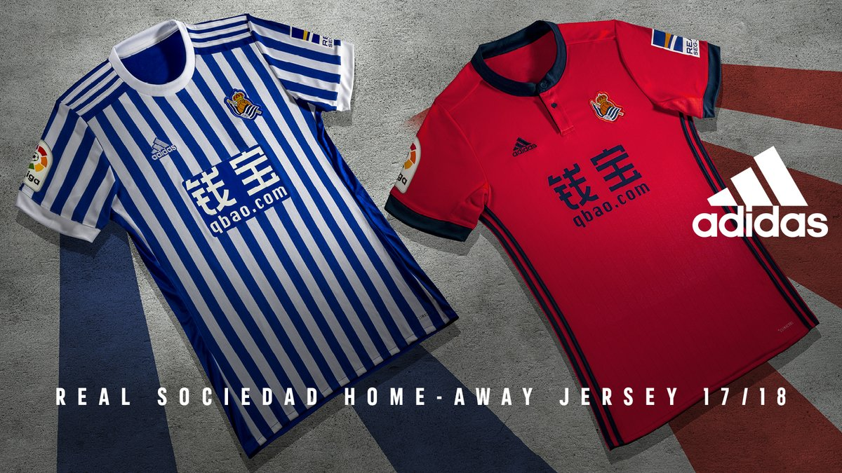 Camisetas Real Sociedad