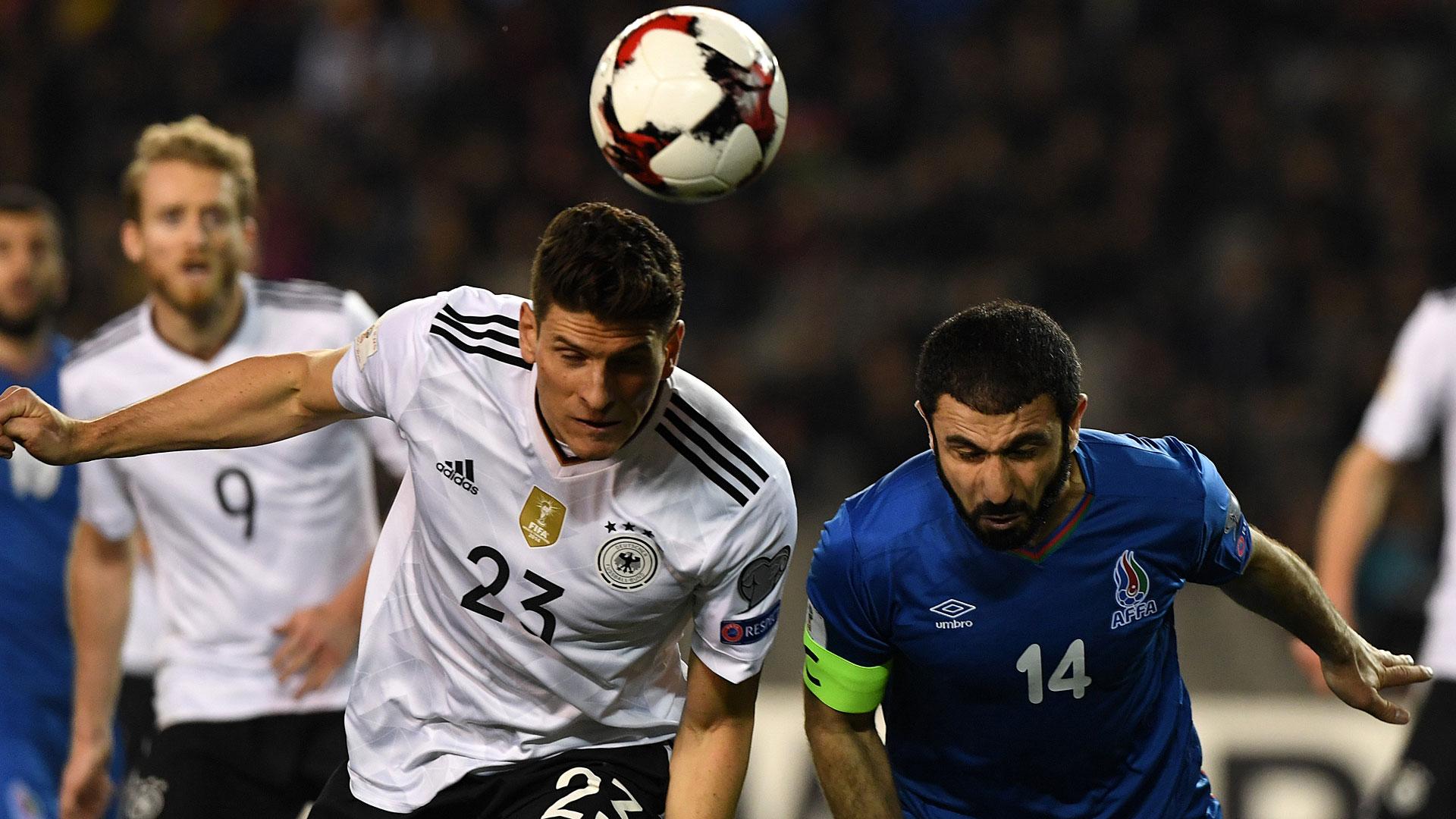 Alemania pone rumbo al Mundial de Rusia desde Bakú