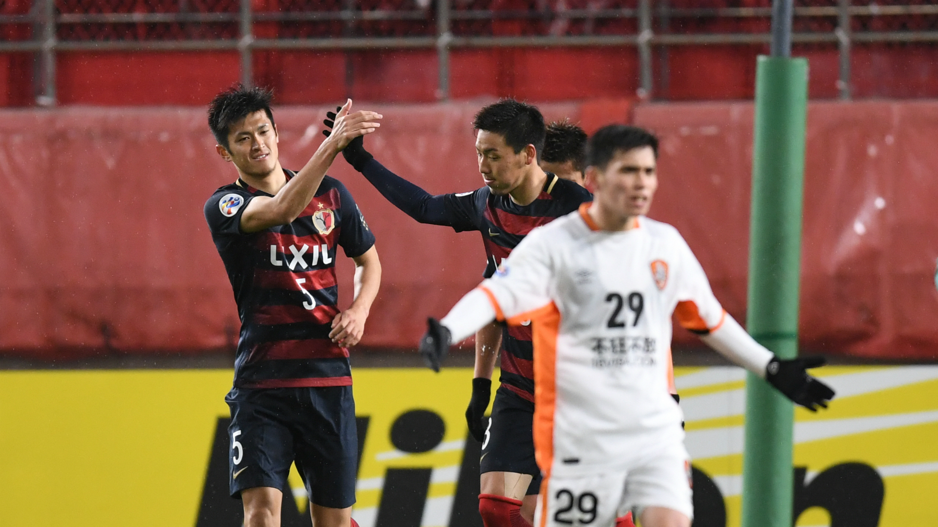 Naomichi Ueda Kashima Antlers v Brisbane Roar AFC Champions League 14032017