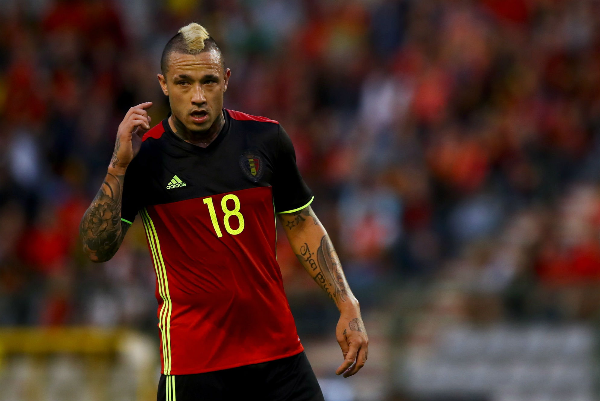 Petulant Nainggolan has no one to blame but himself for Belgium