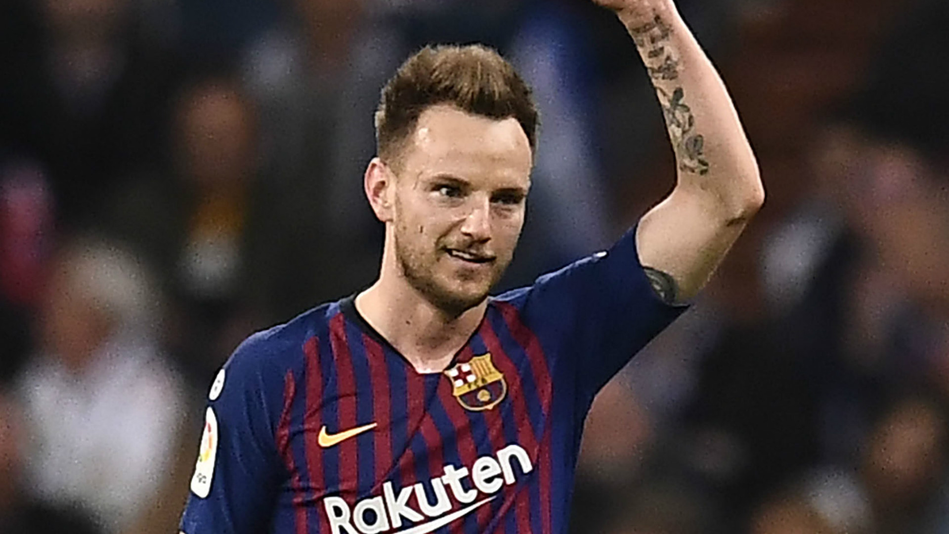 'I'm where I want to be' - Rakitic dismisses reports he could leave Barcelona for Inter