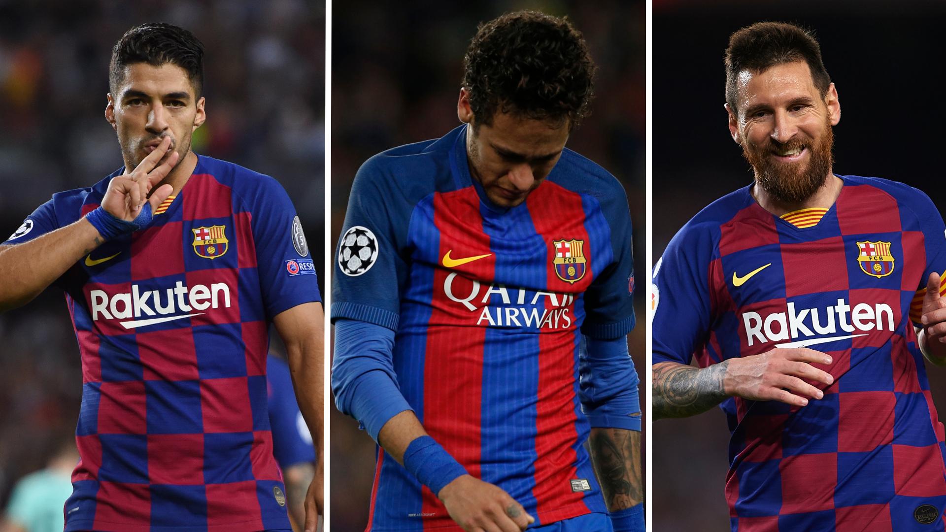 Barcelona Team of the Decade: No Neymar as Messi and Suarez lead the line