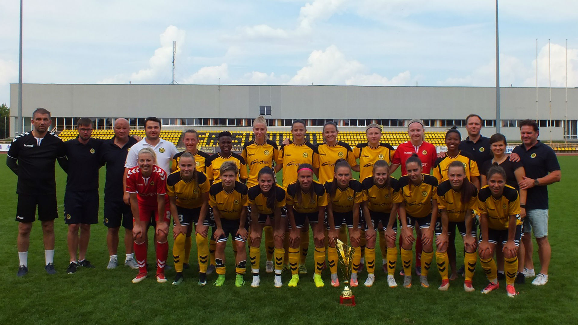 Nothando Vilakazi and Jermaine Seoposenwe help Gintra-Universitetas reclaim Amber Cup