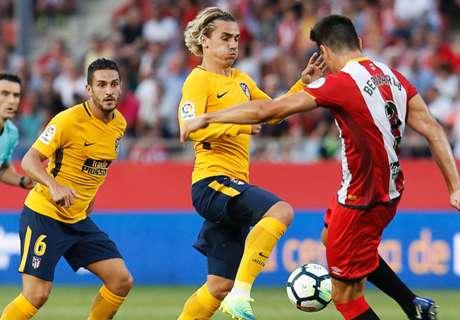 Sepuluh Pemain Atletico Tertahan Di Girona