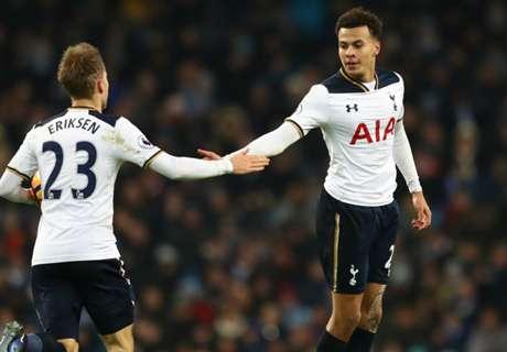 Tottenham empató sobre el final