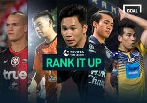 RANK IT UP : จับตา 10 นักเตะทางเลือกแข้งใหม่ทีมชาติไทย