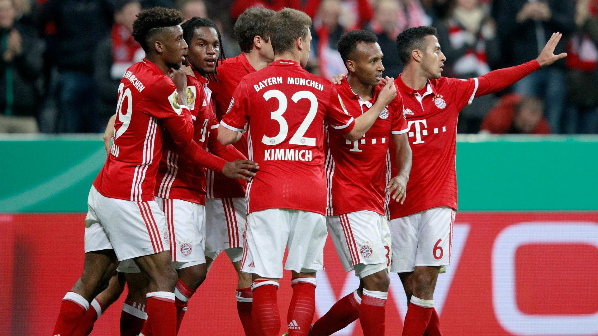 Le Bayern avec un maillot