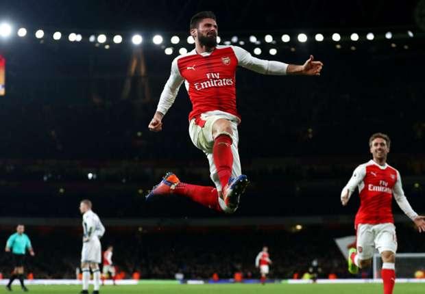 Arsenal-West Bromwich 1-0, Giroud délivre les Gunners