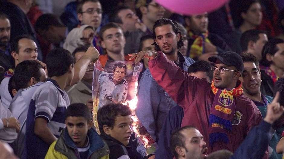 Luis Figo Real Madrid Barcelona