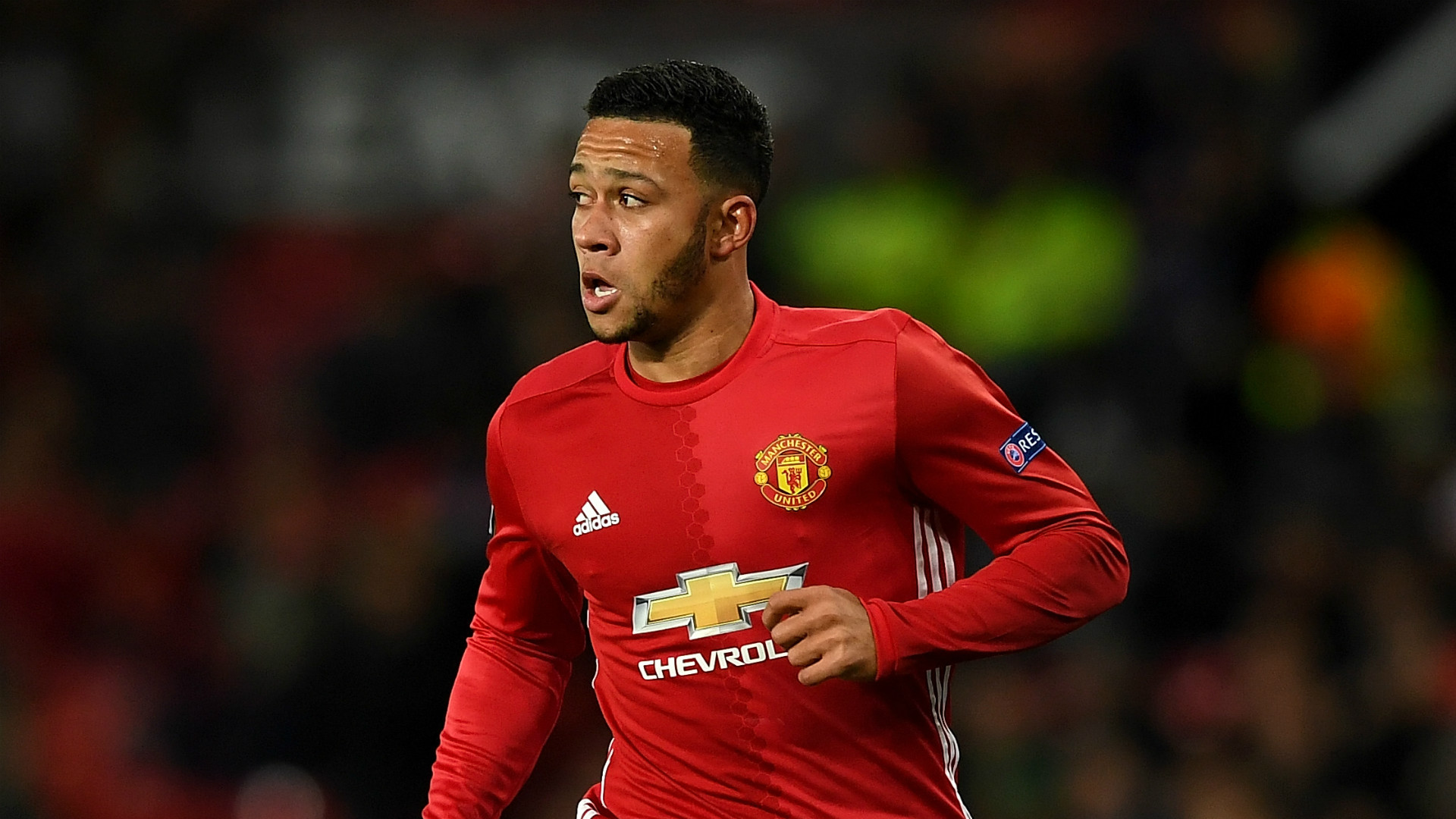 Memphis Depay Manchester United 2016