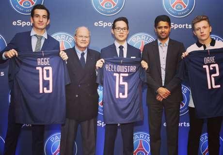 PSG sign FIFA 17 superstars for team