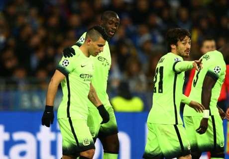 Champions: Dinamo 1-3 Man City
