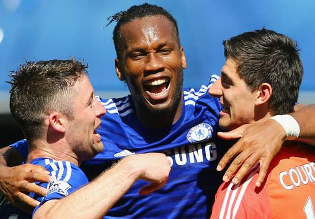 Courtois: Drogba would be a 'great addition' to Chelsea staff