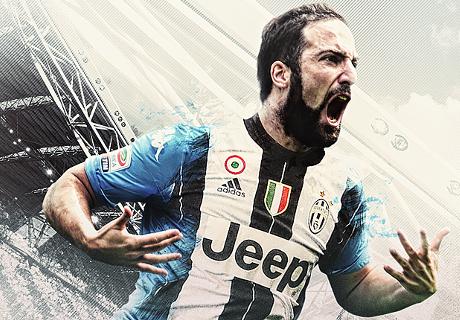 Juventus verpflichtet Higuain