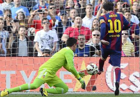 Así forjó Messi a su víctima favorita