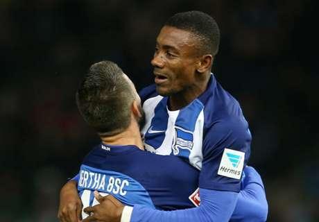 Kalou scores in Hertha win