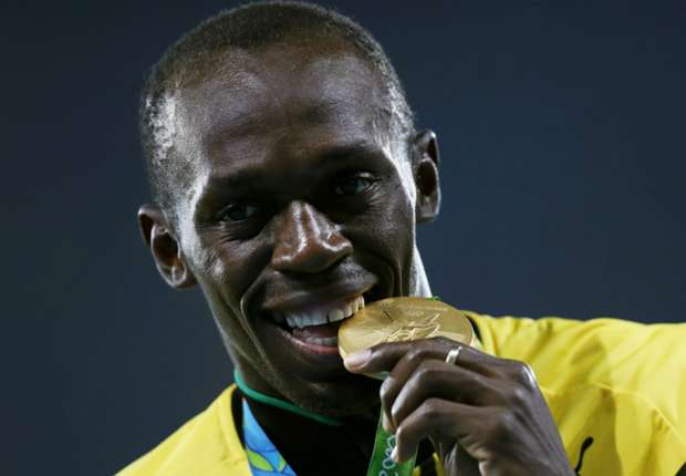 Bolt ready for voyage into football with personalised boots