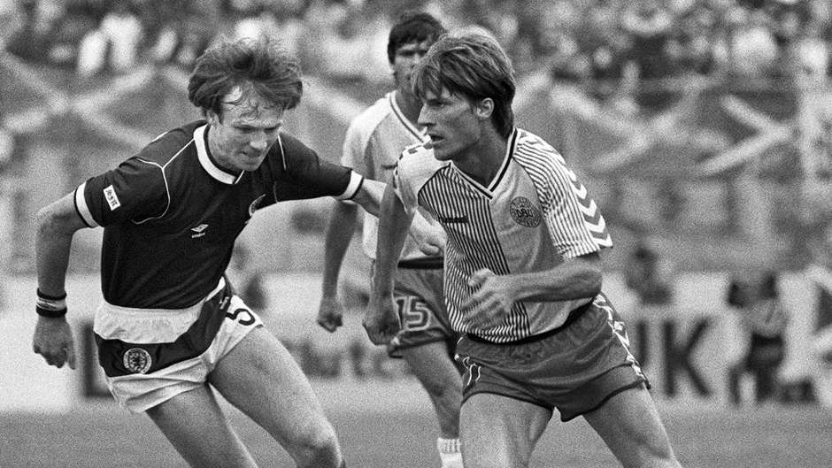 Michael Laudrup Denmark Scotland 1986 World Cup