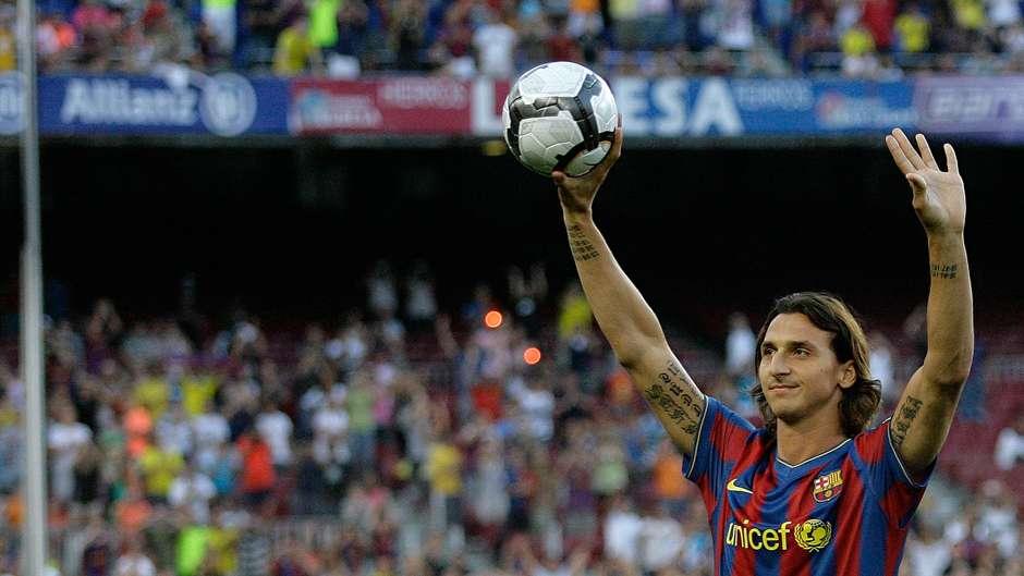 Zlatan Ibrahimovic Barcelona