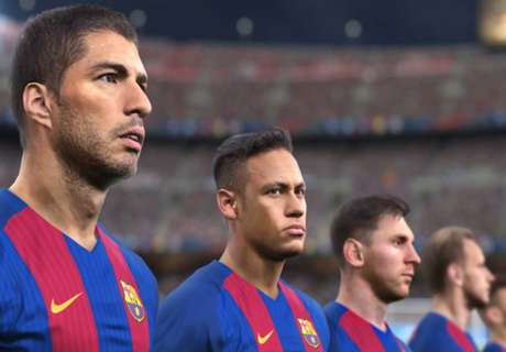 Messi & Barca star on PES 2017 cover