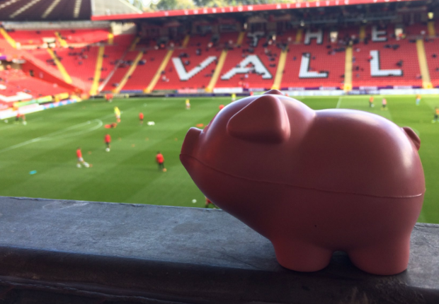 Charlton match halted by... 3,000 pigs?