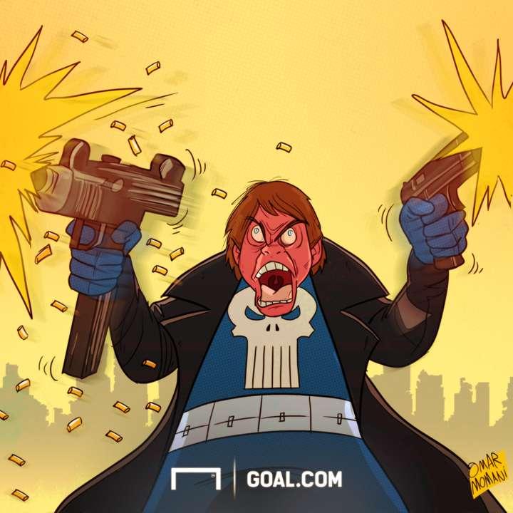 Cartoon Conte the Punisher