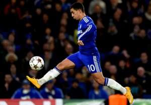 2. Eden Hazard (FC Chelsea): 51 erfolgreiche Dribblings
