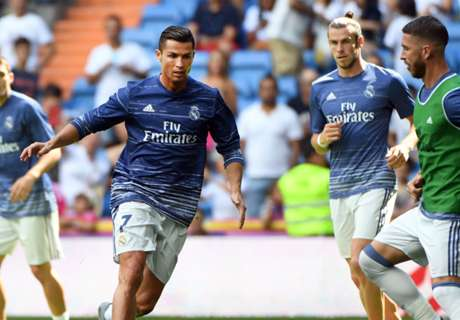 Ronaldo and Bale both out for Madrid