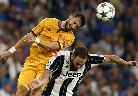 Sevilla houdt Juventus op gelijkspel