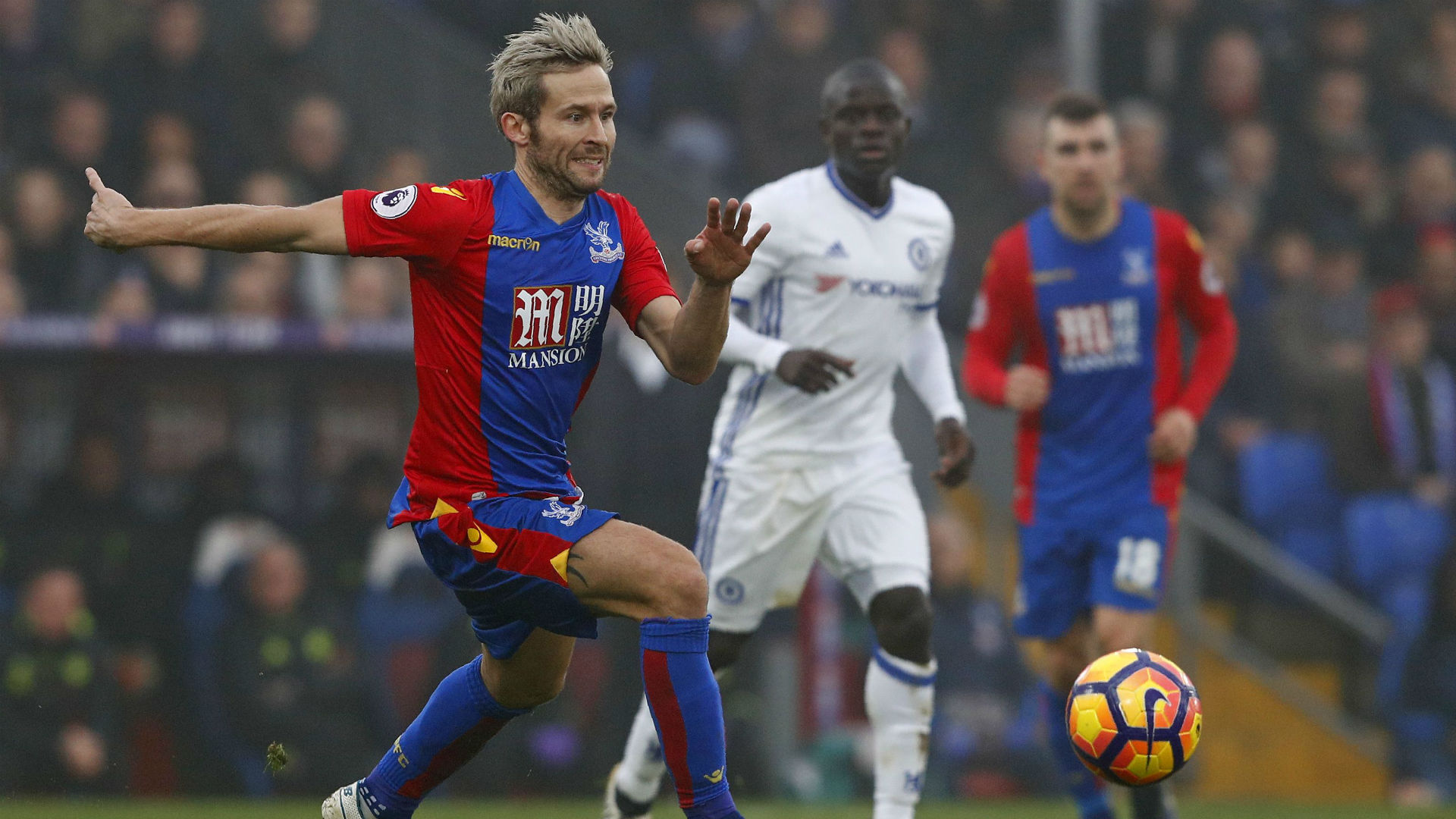 Yohan Cabaye Premier League Crystal Palace v Chelsea Goal