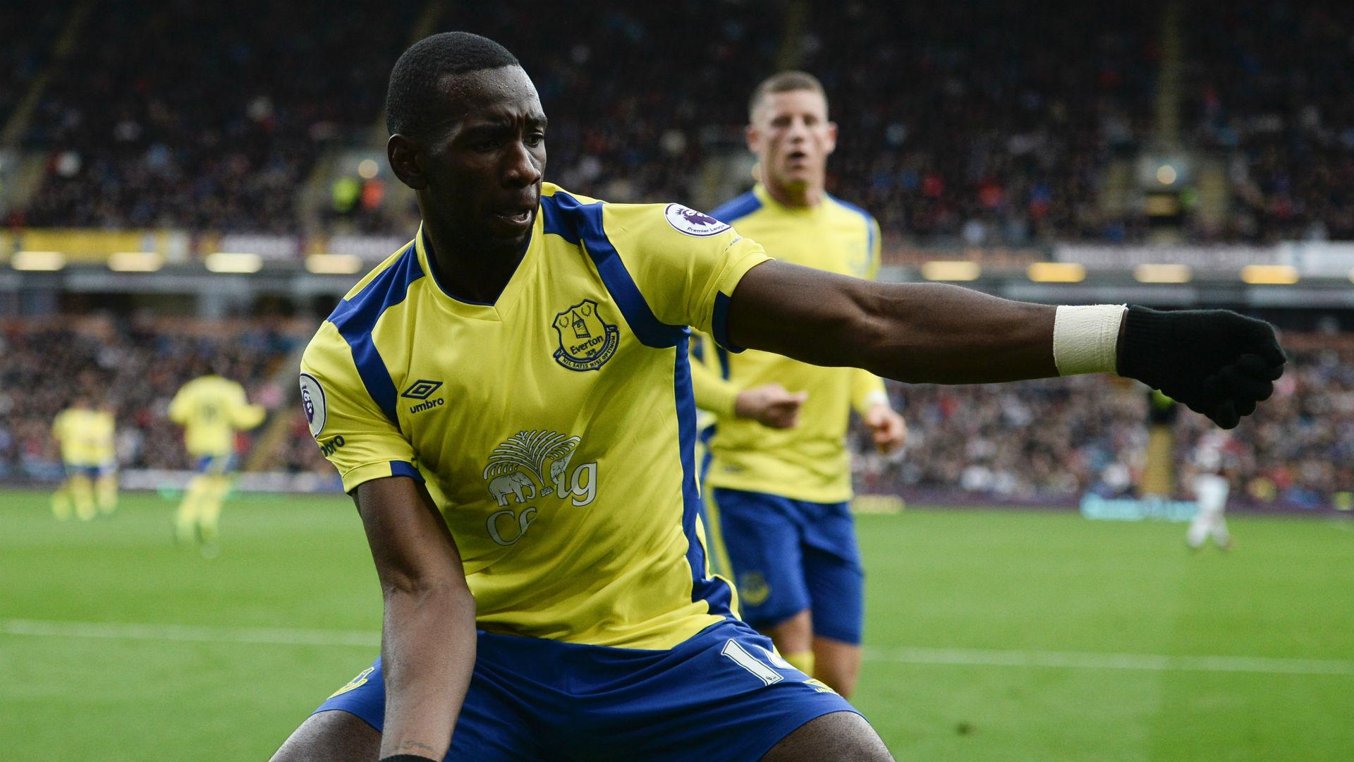 Yannick Bolasie Premier League Burnley v Everton 221016