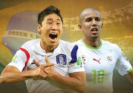 En vivo: Corea del Sur-Argelia