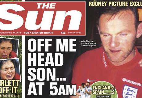 Rooney explode contra imprensa