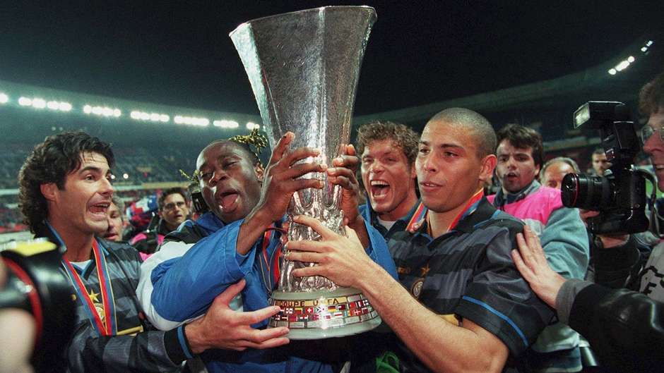 Image result for inter uefa cup 1998
