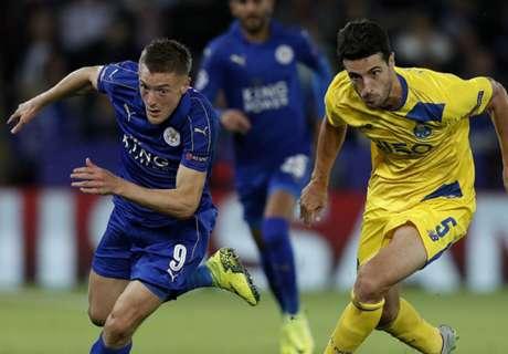Vardy's former team go to Leicester