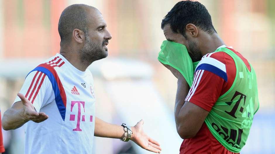 Pep Guardiola Medhi Benatia Bayern Munich