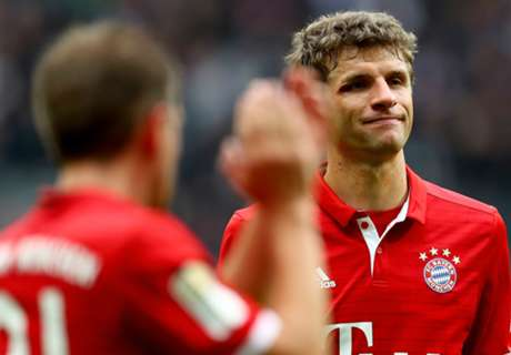 Muller: Towel theft days at Bayern gone