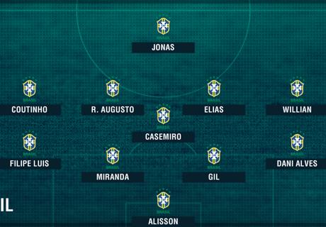 Copa America: Die Aufstellungen