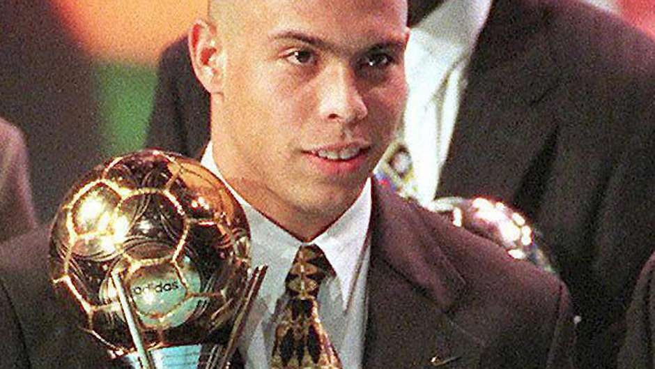 1996 Fifa Golden Ball Ronaldo