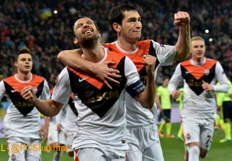 REPORT: Shakhtar ease into semi-finals